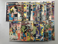 """Lot of (27) 1975-1977 """"Superman"""" 1st Series DC Comic Books from #288-318"""