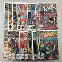 """Lot of (20) 1987-1988 """"The Uncanny X-Men"""" 1st Series Marvel Comic Books from #214-237"""