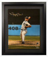 "Mariano Rivera Signed New York Yankees 16x20 Custom Framed Photo Inscribed ""HOF 19"" (Steiner COA) at PristineAuction.com"