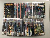"Lot of (66) 1940 ""Batman"" DC Comic Books from #438-689"