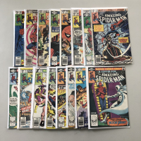 """Lot of (16) 1963 """"The Amazing Spider-Man"""" 1st Series Marvel Comic Books from #200-220"""