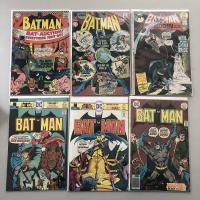 "Lot of (6) 1967-1976 ""Batman"" DC Comic Books from #191-281"