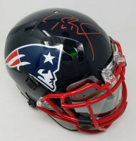 Tom Brady Signed New England Patriots Limited Edition Custom Hydro Dipped Full-Size Authentic On-Field Helmet (Tristar Hologram)