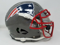 Tom Brady Signed New England Patriots Limited Edition Custom Hydro Dipped Full-Size Authentic On-Field Helmet (Tristar Hologram) at PristineAuction.com