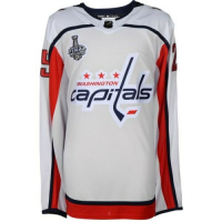 Devante Smith-Pelly Signed Washington Capitals 2018 Stanley Cup Final Jersey (Fanatics Hologram) at PristineAuction.com