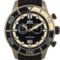 Brandt & Hoffman Epicenter Men's Swiss Chronograph Diver Watch at PristineAuction.com