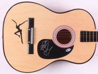 """Stefan Lessard Signed """"Dave Matthews Band"""" 37""""Acoustic Guitar (Beckett COA)"""