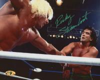 Ricky Steamboat Signed WWE 8x10 Photo (MAB Hologram)