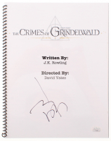 "Johnny Depp Signed ""Fantastic Beasts: The Crimes of Grindelwald"" Movie Script (JSA Hologram) at PristineAuction.com"
