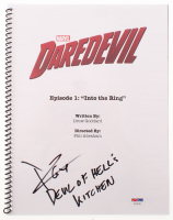 "Charlie Cox Signed ""Daredevil: Into the Ring"" Episode Script Inscribed ""Devil of Hell's Kitchen"" (PSA Hologram) at PristineAuction.com"