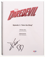 "Charlie Cox Signed ""Daredevil: Into the Ring"" Episode Script Inscribed ""DD"" (PSA Hologram) at PristineAuction.com"