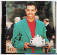 "Tiger Woods Signed ""Tiger Woods: A Pictorial Biography"" Book (JSA LOA)"