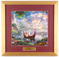 "Thomas Kinkade Walt Disney's ""Tangled"" 17.5x18 Custom Framed Print"
