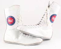 Muhammad Ali Signed Pair of Everlast Boxing Boots (JSA LOA)