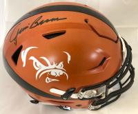 Jim Brown Signed Cleveland Browns Full-Size Authentic On-Field Speedflex Helmet (JSA COA)