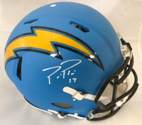 Phillip Rivers Signed Los Angeles Chargers Full-Size Authentic On-Field Helmet (Beckett COA)