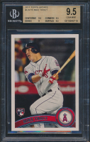 2011 Topps Update #US175 Mike Trout RC (BGS 9.5)
