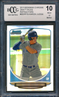 2013 Bowman Chrome Draft Draft Picks Refractors #BDPP19 Aaron Judge (BCCG 10)
