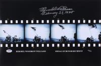 "Hershel Williams Signed LE 12x18 Photo Inscribed ""February 23, 1945""  (PSA COA)"