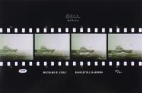 """Richard E. Cole Signed LE 12x18 Photo Inscribed """"4-18-42"""" (PSA COA)"""