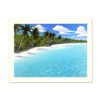 "Dan Mackin Signed ""Endless Beaches"" Limited Edition 16x12 Lithograph at PristineAuction.com"