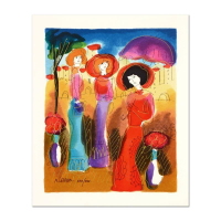 Moshe Leider Signed Limited Edition 9x11 Serigraph at PristineAuction.com