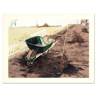 """William Nelson Signed """"The Wheelbarrow"""" Limited Edition 22x28 Lithograph at PristineAuction.com"""
