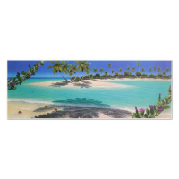 "Dan Mackin Signed ""Morning Glory Bay"" Limited Edition 39x13 Lithograph at PristineAuction.com"