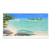 """Dan Mackin Signed """"Tropical Breeze"""" Limited Edition 21x39 Lithograph (PA LOA) at PristineAuction.com"""