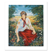 """Igor Semeko Signed """"Peaceful Moments"""" Limited Edition 16x19 Serigraph at PristineAuction.com"""