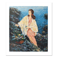 """Igor Semeko Signed """"Beauty by the Seaside"""" Limited Edition 19x16 Serigraph at PristineAuction.com"""