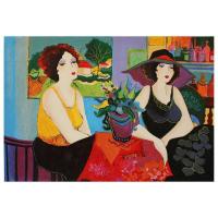 "Patricia Govezensky Signed ""Esco Bar"" Limited Edition 15x22 Serigraph on Canvas at PristineAuction.com"