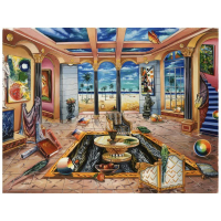 """Alexander Astahov Signed """"Beach House"""" Limited Edition 16x20 Giclee on Canvas at PristineAuction.com"""