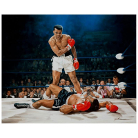 "Yevgeniy Korol Signed ""Ali Vs. Liston"" Limited Edition 24x30 Mixed Media on Canvas at PristineAuction.com"