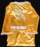 "Ric Flair Signed ""Nature Boy"" Wrestling Robe Inscribed ""Nature Boy"" & ""16x"" (JSA COA)"