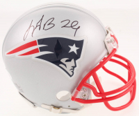 LeGarrette Blount Signed New England Patriots Mini Helmet (JSA COA) at PristineAuction.com