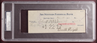 Orville Wright Signed 23.5x27.5 Custom Framed Check Display (PSA Encapsulated - Autograph Grade 9) at PristineAuction.com