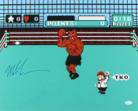 "Mike Tyson Signed ""Punch-Out!!"" 16x20 Photo (JSA COA)"