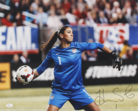 Hope Solo Signed Team USA 16x20 Photo (JSA COA) at PristineAuction.com