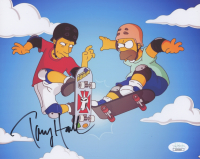 "Tony Hawk Signed ""The Simpsons"" 8x10 Photo (JSA COA) at PristineAuction.com"
