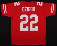 Devine Ozigbo Signed Nebraska Cornhuskers Jersey (JSA COA) at PristineAuction.com