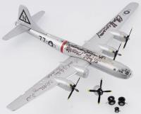 "Bockscar B-29 Bomber Plane Signed By (4) with Charles Donald Albury, Fred J. Olivi, Charles Sweeney & Frederick Ashworth Inscribed ""Pilot Nagasaki"", ""Nagasaki - Aug 45'"", ""Co-Pilot"" & ""Pilot"" (PSA LOA)"