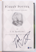 """Daniel Radcliffe Signed """"Harry Potter and the Half-Blood Prince"""" Hardcover Book (Beckett COA)"""