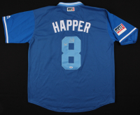 """Ian Happ Signed Chicago Cubs Player's Weekend Jersey Inscribed """"Happer"""" (PSA COA) at PristineAuction.com"""