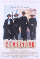 "Kurt Russell Signed ""Tombstone"" 27x40 Movie Poster (Beckett Hologram)"