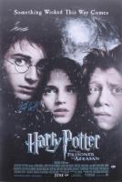 "Daniel Radcliffe Signed 27x40 ""Harry Potter and the Prisoner Of Azkaban"" Movie Poster (Beckett Hologram)"