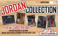 """Michael Jordan Collection"" – Ten Premium Cards per Mystery Box!"