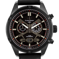 Ulysse Girard Thibault Men's Swiss Chronograph Watch at PristineAuction.com