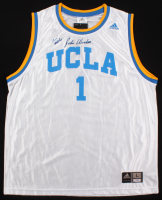 "John Wooden Signed UCLA Bruins Jersey Inscribed ""Best Wishes"" (PSA COA)"