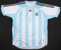 "Lionel Messi Signed Argentina Jersey Inscribed ""Leo"" (PSA Hologram)"